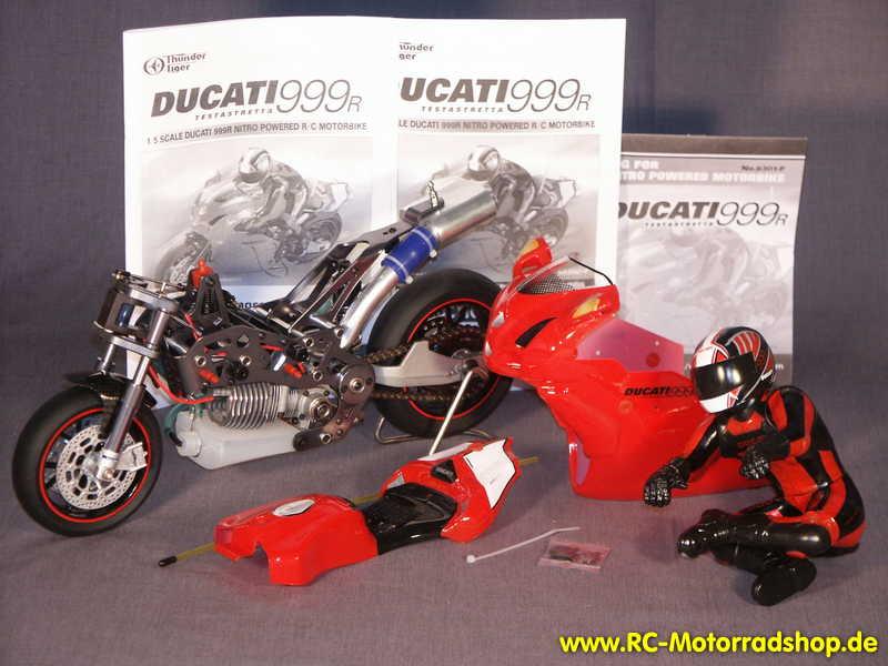 rc-motorradshop.de - thunder tiger fm-1n ducati 999r nitro 1:5