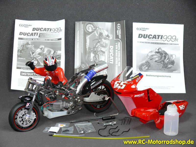 rc-motorradshop.de - thunder tiger fm-1n ducati desmosedici nitro 1:5