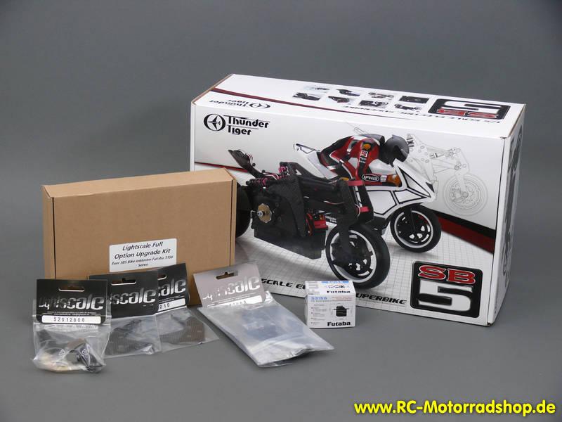 RC-Motorradshop.de - SB-5 LIGHTSCALE Full Upgrade Kit